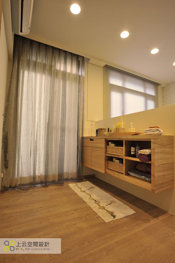 Scandinavian style bedroom by 上云空間設計 Scandinavian