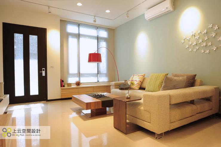 Ruang Keluarga by 上云空間設計