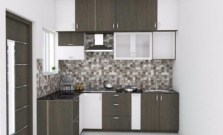 modern Kitchen by ServiceBELL Solutions PVT Ltd