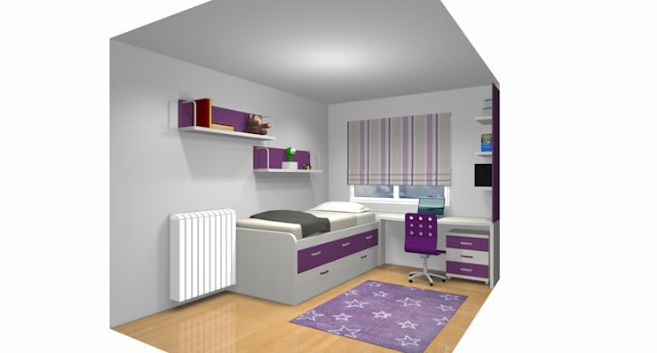 Modern style bedroom by Muebles Parchis. Dormitorios Juveniles. Modern