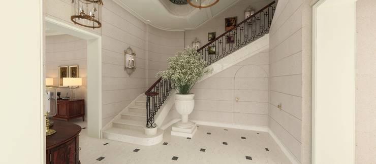 Ingresso & Corridoio in stile  di Kerim Çarmıklı İç Mimarlık