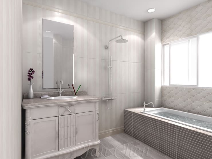 country Bathroom by 綠藝營造