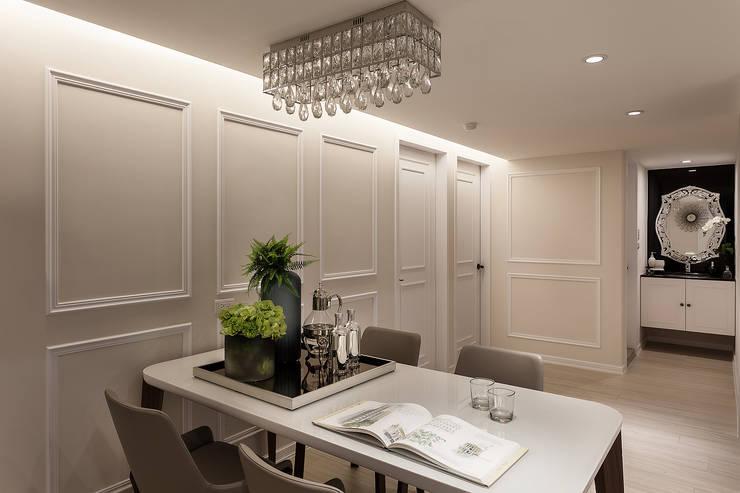 Dining room by 祥祥設計有限公司