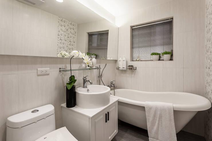 classic Bathroom by 祥祥設計有限公司