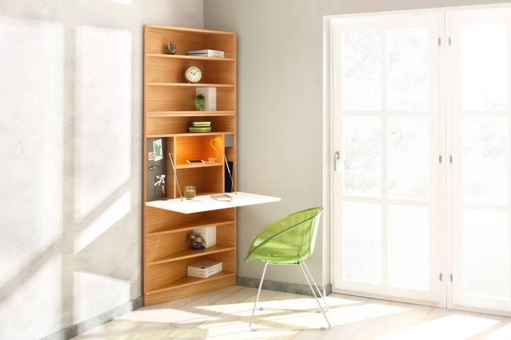 ห้องอ่านหนังสือและห้องทำงาน by noook