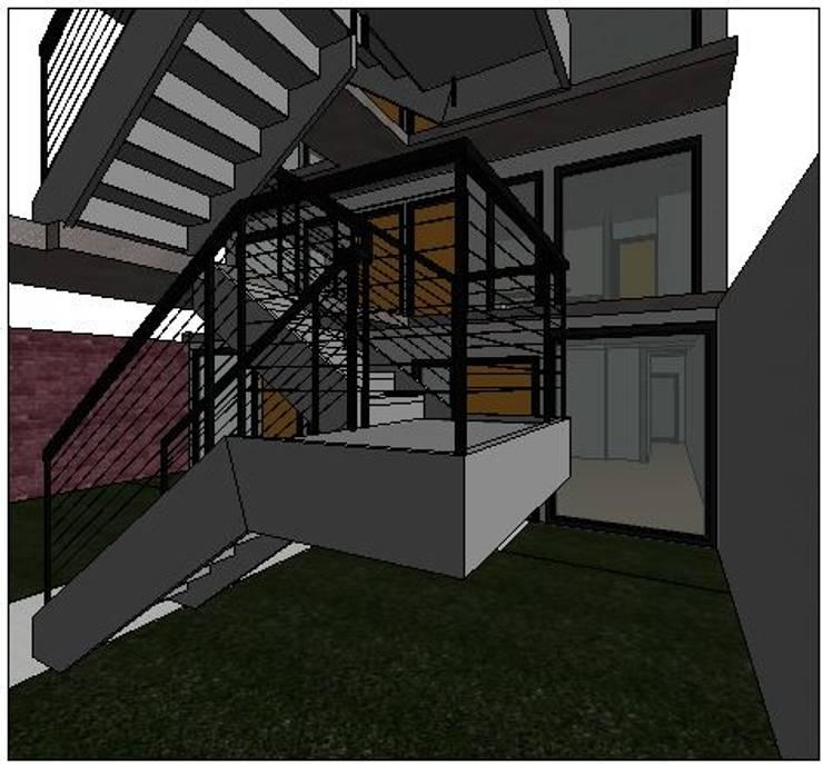 EDIFICIO VENTUS: Casas de estilo  por BIM ARCH SERVICES,