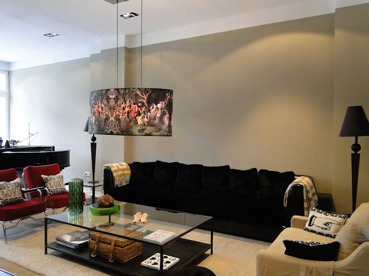 غرفة المعيشة تنفيذ AID-Studio