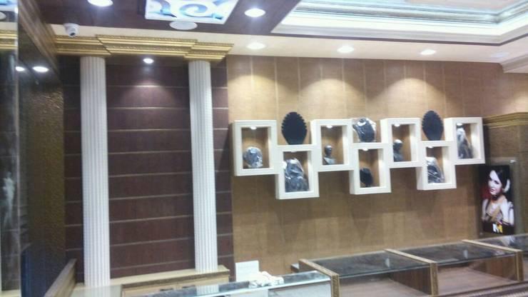 Jewellers Showroom:  Artwork by MARIA DECOR