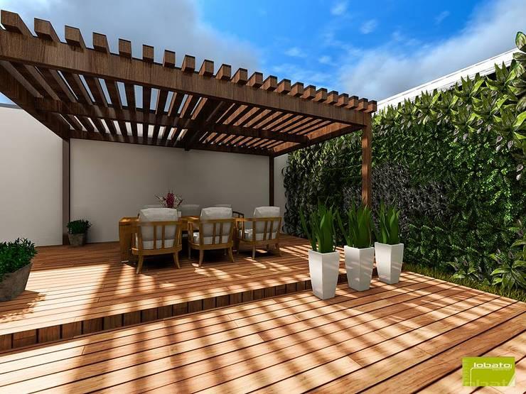 Propuesta de Terraza :  de estilo  por Lobato Arquitectura