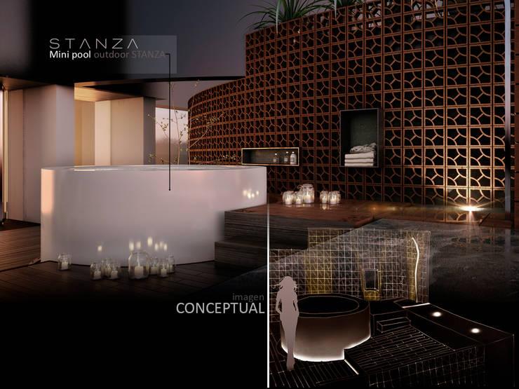 Stanza Pasión por el diseño :  de estilo  por FUNDAMENTAL