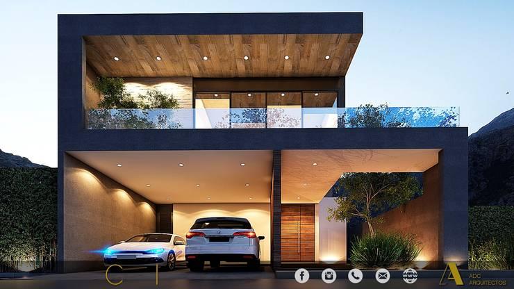 PROYECTO GI/L21/M55/AMORADA/MEX: Casas de estilo  por ADC arquitectos