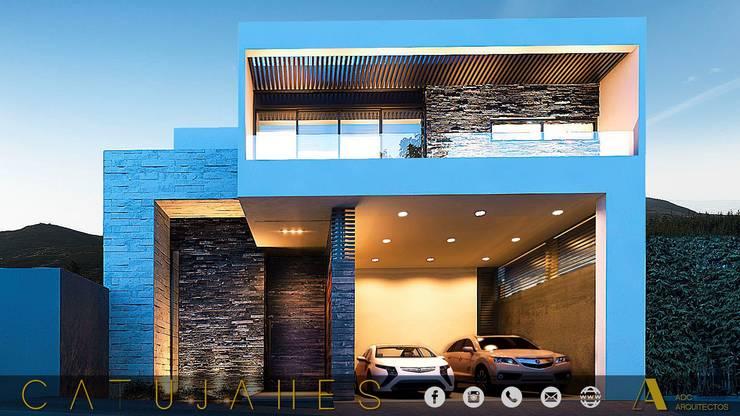 CATUJANES/L2/MEX: Casas de estilo  por ADC arquitectos