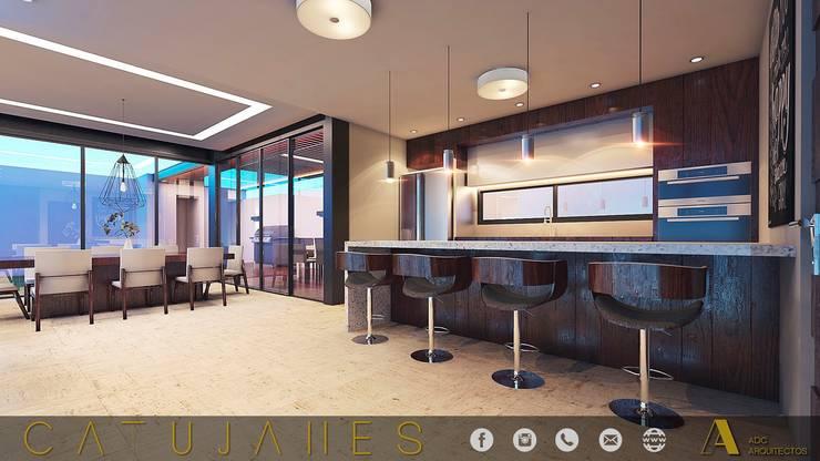 CATUJANES/L2/MEX: Cocinas de estilo  por ADC arquitectos