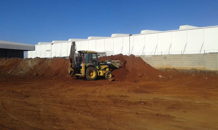 NEW WAREHOUSE:   by DG Construction