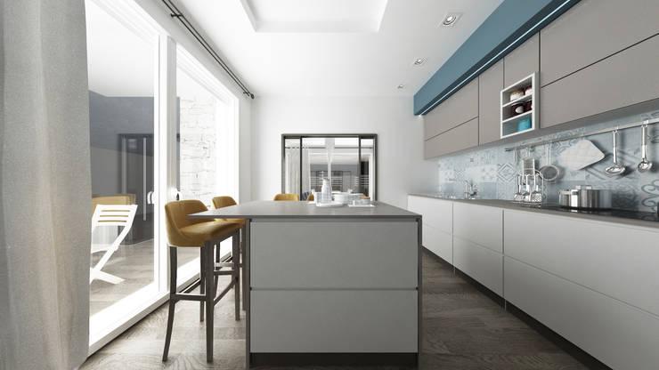 Cocinas de estilo moderno por De Vivo Home Design