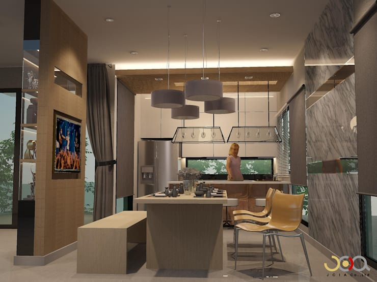 Dining room by jcia co.,ltd
