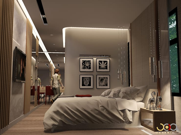 Bedroom by jcia co.,ltd