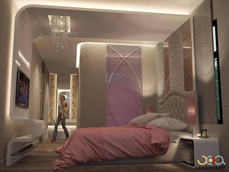 Bedroom by jcia co.,ltd