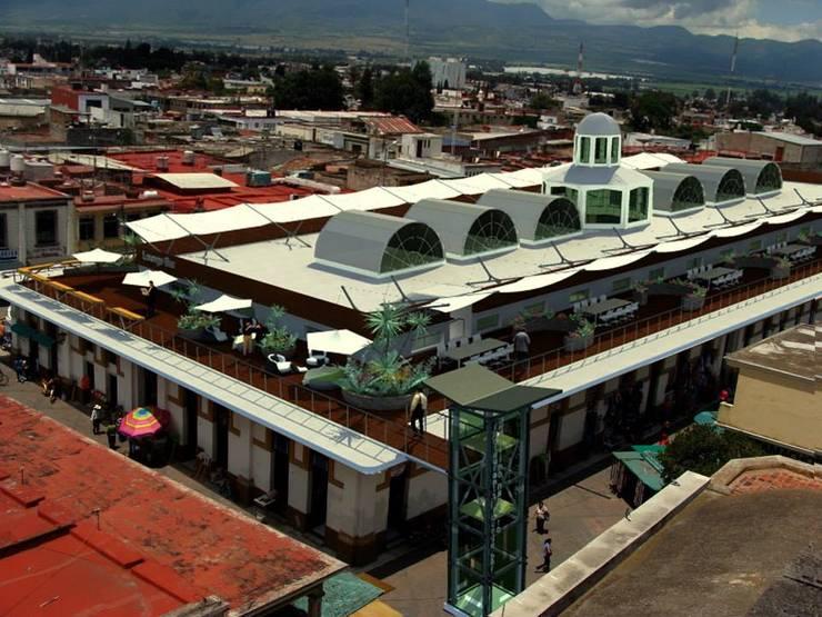 Mercado Municipal Paulino Navarro :  de estilo  por Lobato Arquitectura