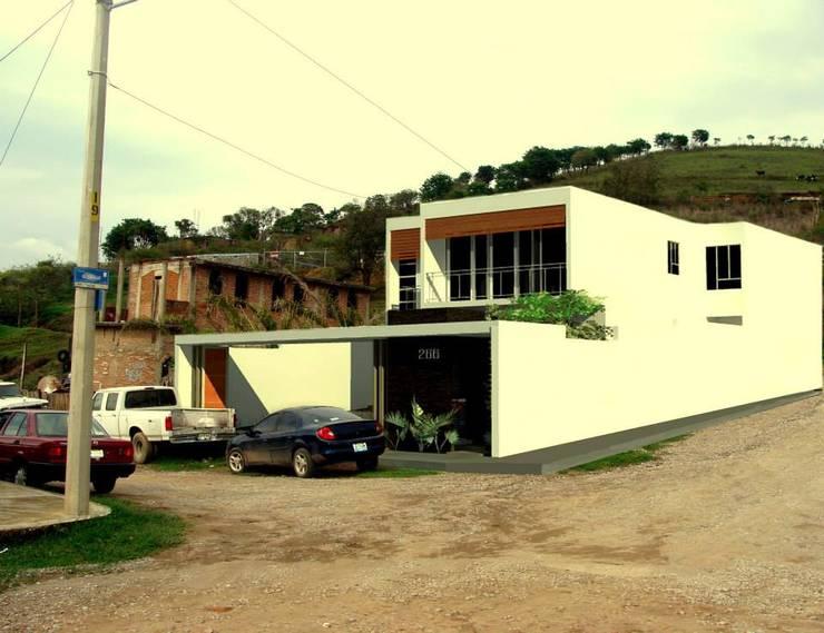 Propuesta Fachada Exterior: Casas de estilo  por Lobato Arquitectura