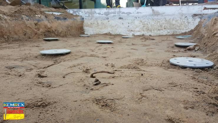 งานฐานรากบ่อปลาคาร์ฟ หมู่บ้านวินด์มิลล์พาร์ค.:   by บริษัทเข็มเหล็ก จำกัด
