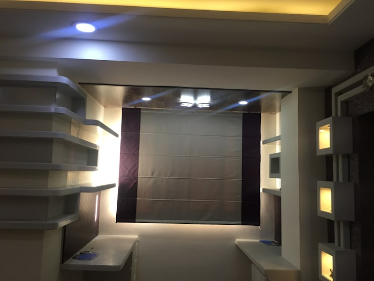 MR. NANDESH KATTA'S RESIDENCE: asian Study/office by cosmos collection