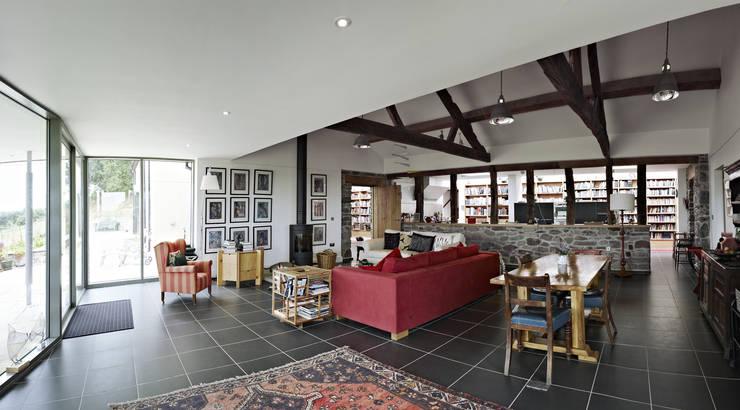 Livings de estilo moderno por Baart Harries Newall