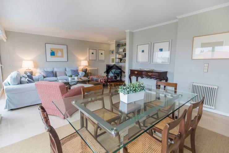 CASA EM CASCAIS: Salas de jantar  por Click Inside - Real Estate Photography