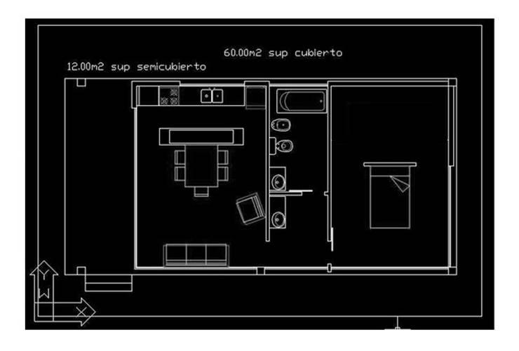 HOGARES PANORAMICOS  – Modelo HOLDIN 72' | PANORAMICA:  de estilo  por HoldIn Construcciones,