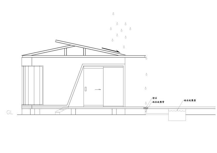 雨水收集系統:  房子 by 石方室內裝修有限公司