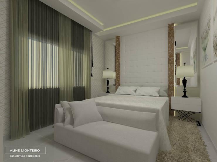 Bedroom by Aline Monteiro