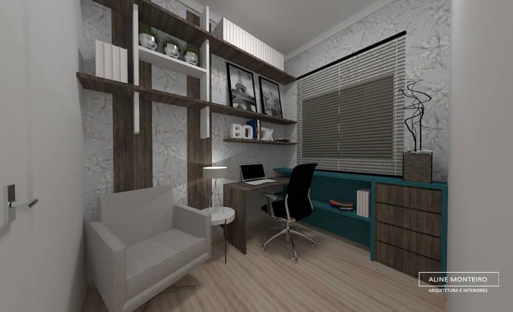 Study/office by Aline Monteiro