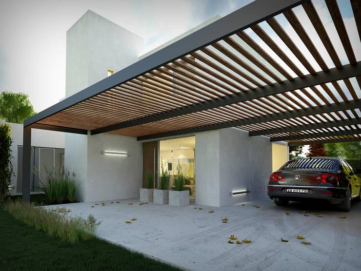 Vivienda unifamiliar: Edificios de Oficinas de estilo  por Arquidigital,