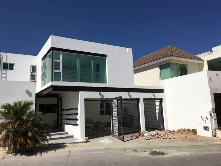 Estado original : Casas de estilo  por HF Arquitectura