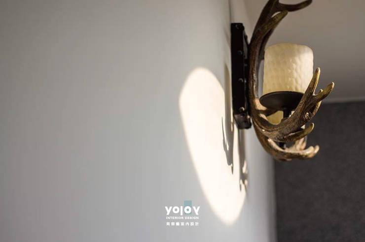 自然。隱逸 - 北歐風格:  牆面 by 有容藝室內裝修設計有限公司