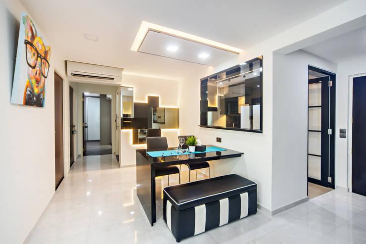 غرفة السفرة تنفيذ Renozone Interior design house