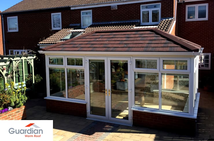 modern Conservatory by Premier Roof Systems