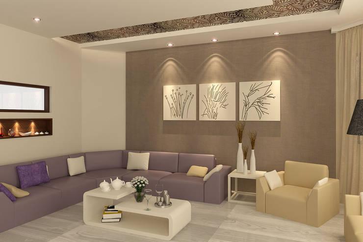 Interior Design Project at Phagwara:   by Gagan Architects