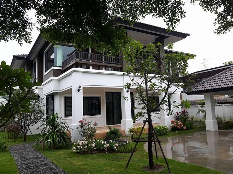บ้านเดี่ยว 2 ชั้น:   by kt2015