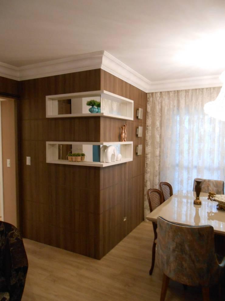 Dining room by Mariana Von Kruger Emme Interiores