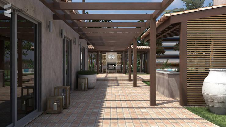 Remodelação de Moradia Existente – Algarve:   por Essencia Architects,