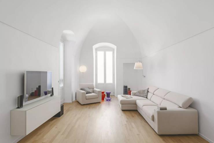 غرفة المعيشة تنفيذ salvatore cannito architetto