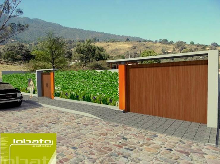 Ingreso :  de estilo  por Lobato Arquitectura