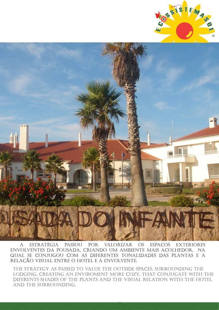Pousada do Infante Sagres: Hotéis  por ECOSSISTEMAS; Áreas Verdes e Sistemas de Rega.,