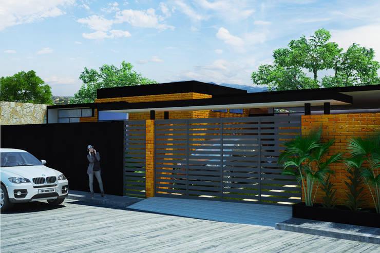 Casas de estilo  por LOFT ESTUDIO arquitectura y diseño