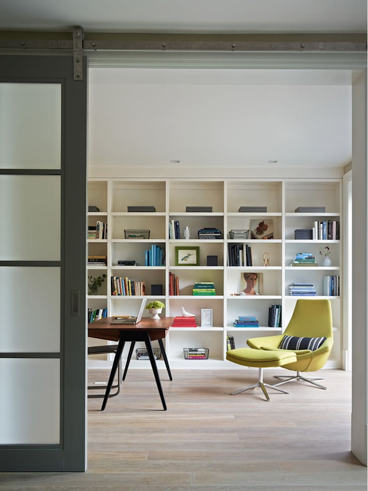 Noe Valley I: classic Media room by Feldman Architecture