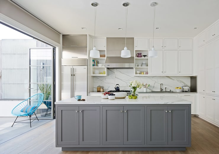 Noe Valley I: classic Kitchen by Feldman Architecture