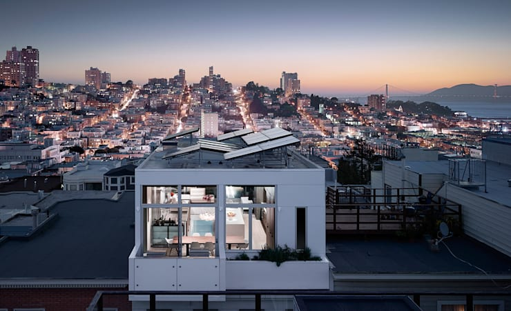 Telegraph Hill:  Houses by Feldman Architecture