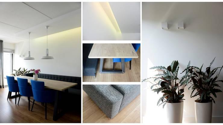 Woonhuis Goirle:  Woonkamer door Studio'OW Interieurontwerp, Modern