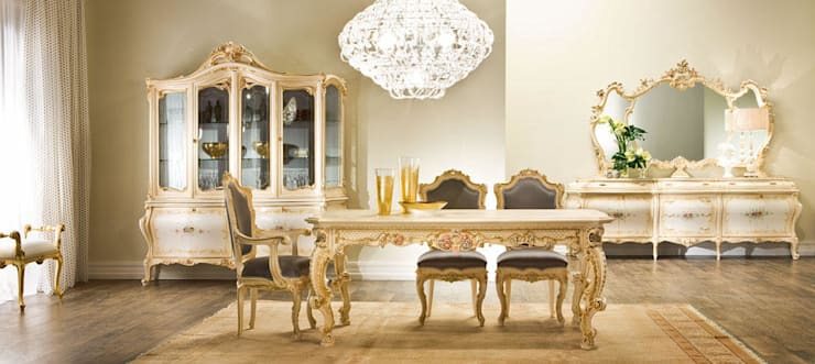 Interior:  Dining room by  Perfect Interiors ,Classic